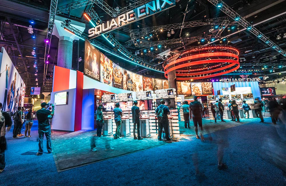 3D Virtual tours of trade shows