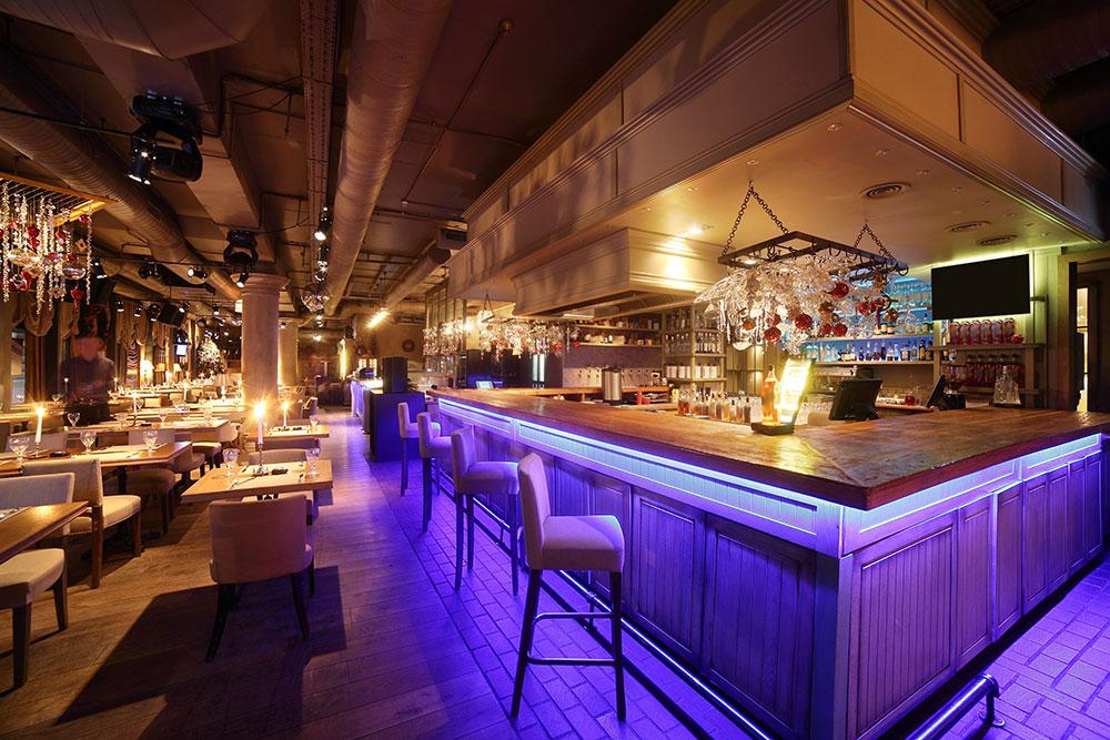 luxury bar restaurant virtual tour in 3D