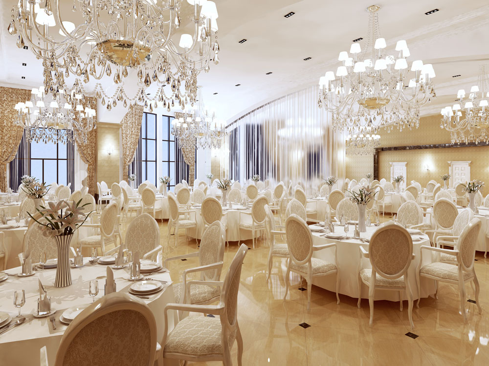 London hotel ball room hire space virtual tour