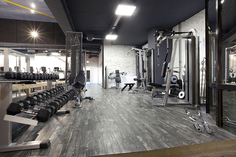 360 degree virtual tour of a gym