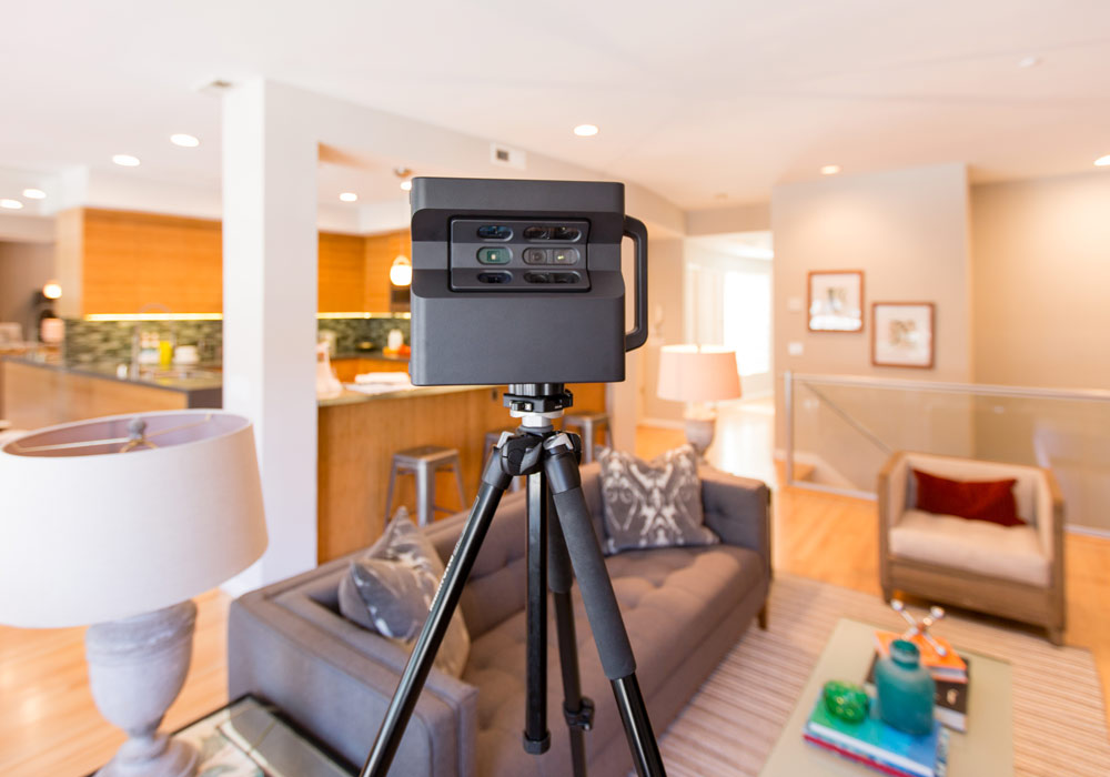 360 3D camera for virtual tour photography in Manchester
