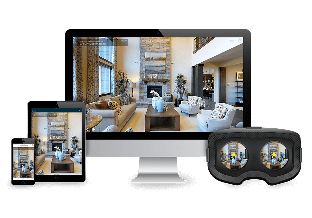 view your 3d virtual tour on desktop mobile VR devices
