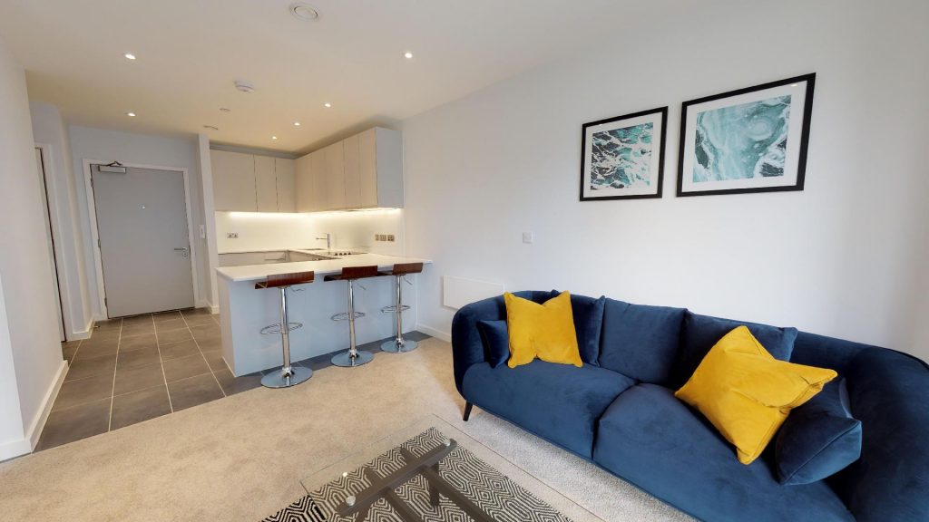 virtual tour of show manchester apartment local blackfriars