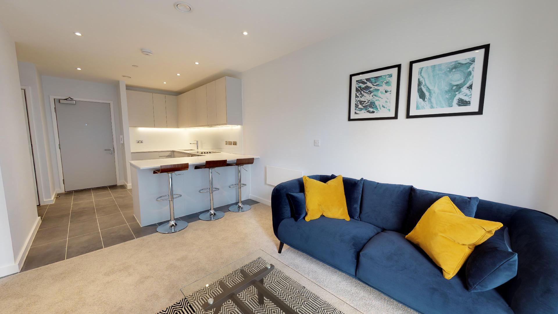 Virtual tour of Local Blackfriars apartments, Manchester ...
